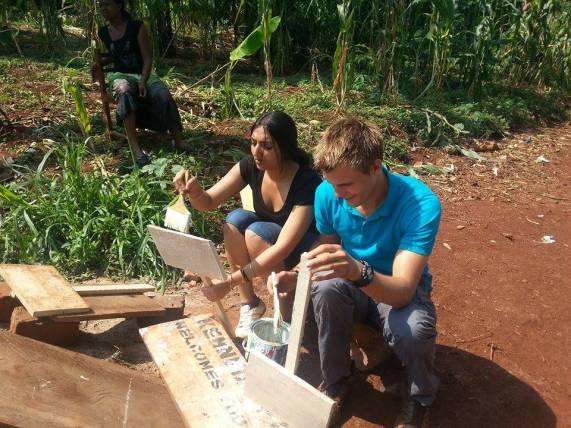 Volunteer at a school in Africa
