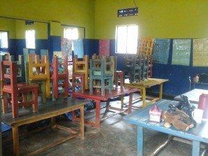 school in rural Uganda