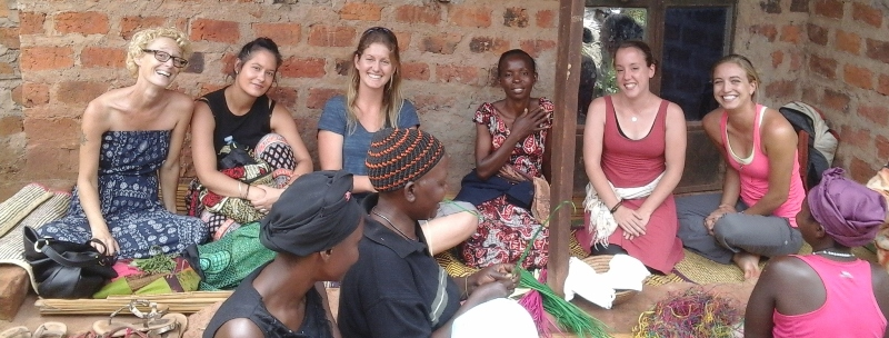 You can volunteer with women's groups in Africa