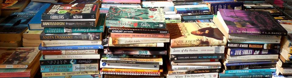 have a book sale to raise funds for your mission trip to Africa