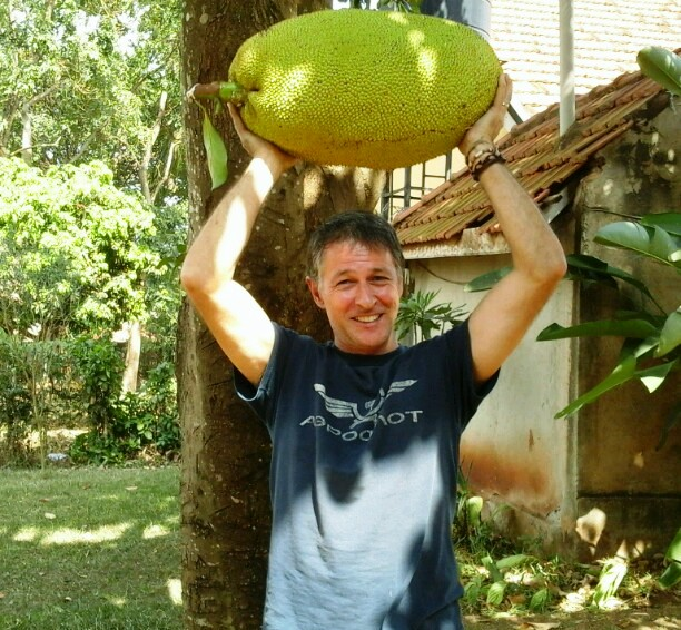Jackfruit is widely available in Uganda and a great source of local nutrition. Its a super food!