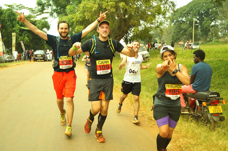 Run a marathon in Uganda, and benefit local communities