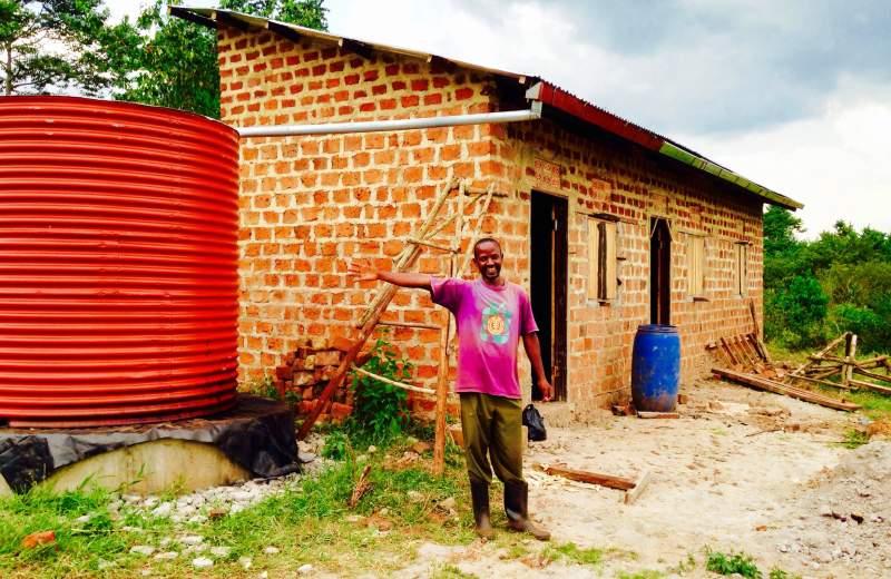 rain water hardvesting in Uganda