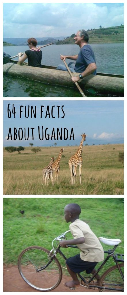 Here are 64 fun facts about Uganda for volunteers and travelers.