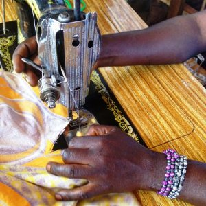 Donate a sewing machine to a women's group in Uganda