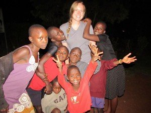 Volunteer in an orphanage in Africa