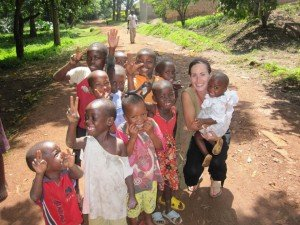 volunteer in Africa