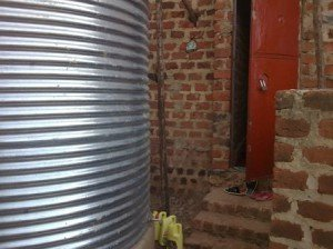 Rain water collection in Africa