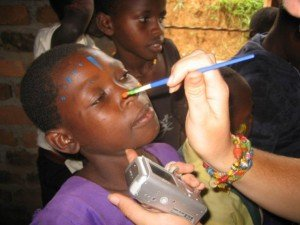 teach art in Africa