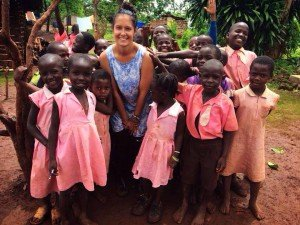 volunteer in Africa and work with children and women in clinics, gardens and schools