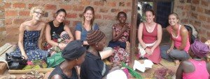 Volunteer with women's groups in Africa