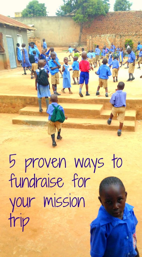 We've put together 5 proven ways to fund raise for your mission trip to Africa.