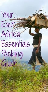 Comprehensive packing guide for travelers and volunteers to Africa