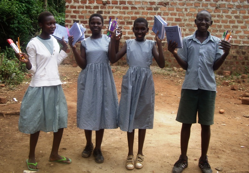 Volunteer in Africa and work bring encouragement and creativity into Ugandan classrooms