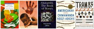 African authors worth reading Chinua Achebe, Moses Isegawa, Boubacar Boris Diop, Chimamanda Ngozi Adichie, and Fiston Mwanza Mujila