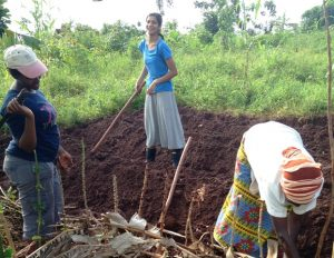 Volunteer farm work in Africa. Help communities attain food security.