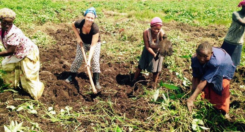 Volunteer on a communal farm in Uganda. Work alongside real people as they improve their food security.