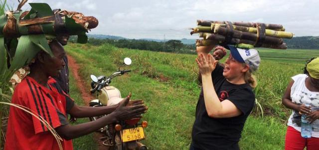 Volunteer in Africa and work with women's groups and on organic farms.