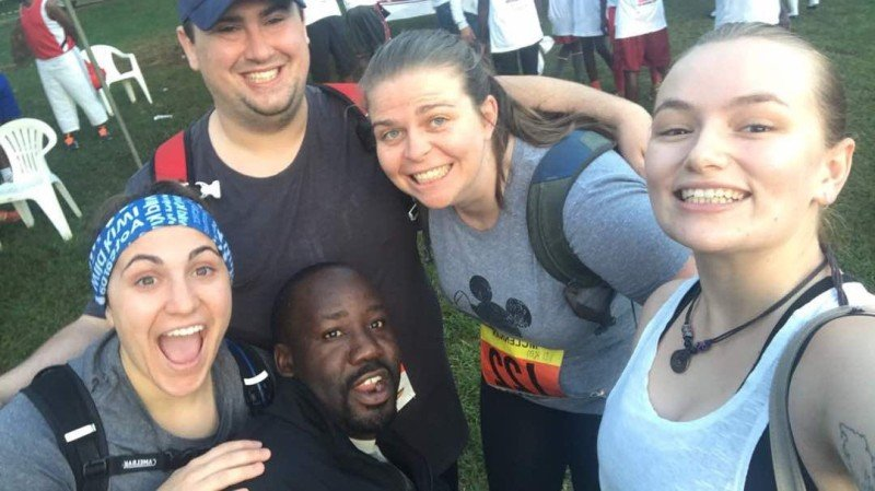run a marathon in Uganda