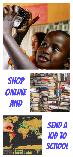 Shop online and send Ugandan kids to school. The Real Uganda offers scholarships to deserving high school students. The scholarships are funded fully through affiliate sales. Get involved. It costs you absolutely nothing.