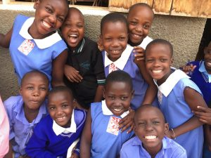 Primary School Students in Uganda