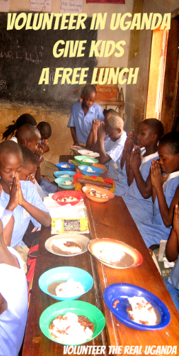 Volunteer in Uganda and give kids a hot lunch