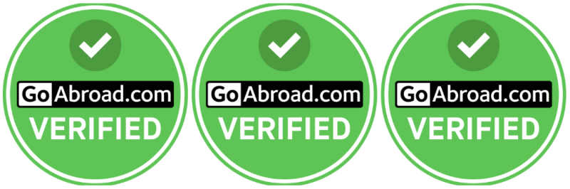 Verified by GoAbroad.com