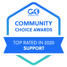 Go Overseas Community Choice Award
